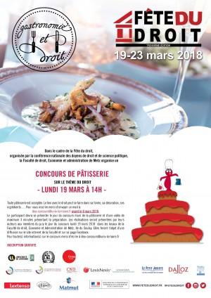 METZ - Concours de Pâtisserie
