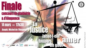 Clermont-Ferrand - Finale concours de plaidoirie et d'éloquence