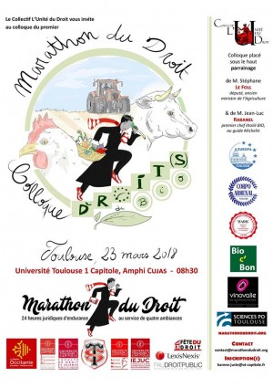 Marathon du Droit organisé par  la Faculté de Droit et Science politique de l'université Toulouse 1 Capitole