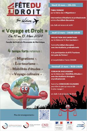 La Martinique -Fête du Droit 2020